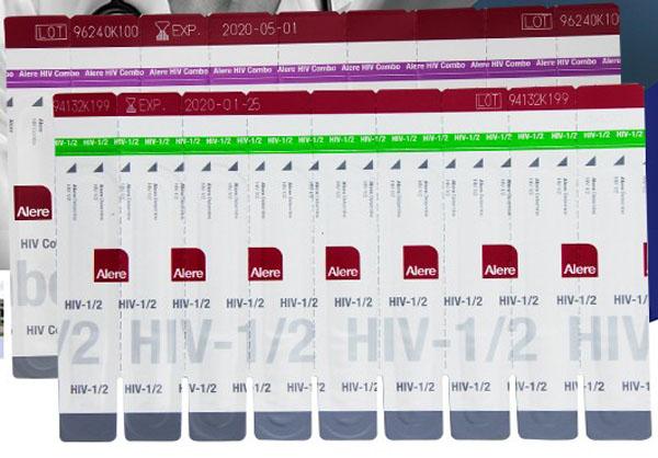 雅培hiv试纸